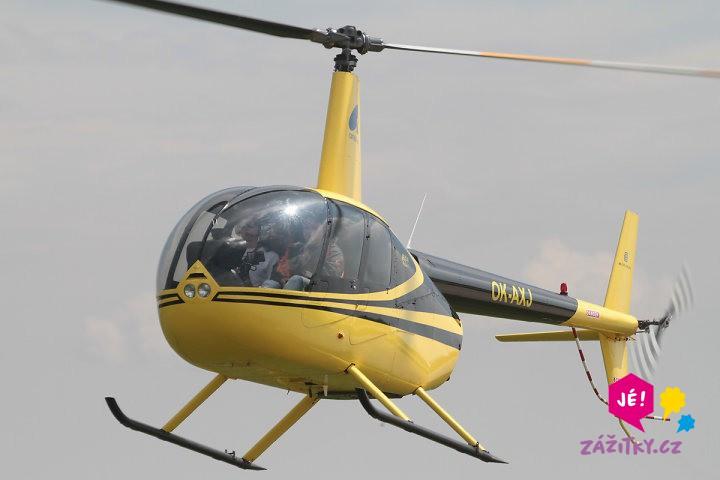 Vyhlídkový let vrtulníkem Robinson - certifikát