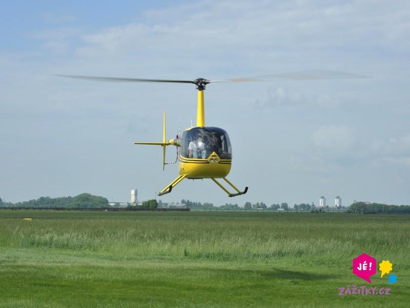 Vyhlídkový let vrtulníkem Robinson - dárek