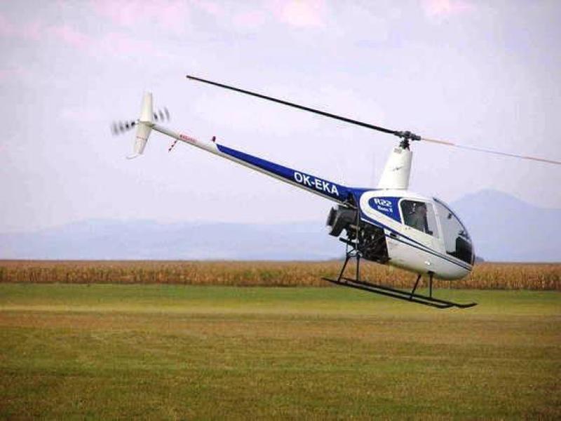 Adrenalinový let vrtulníkem - dárkový poukaz