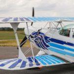 Akrobatický let - poukaz, certifikát