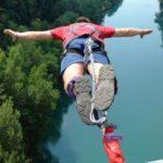 Bungee jumping z nejvyššího mostu ČR - dárkový poukaz na zážitek