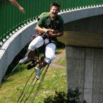 Bungee jumping - Kieneova houpačka - poukaz, certifikát
