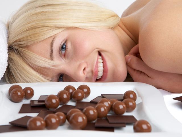 Čokoládová masáž - certifikát