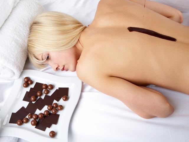 Čokoládová masáž - dárek