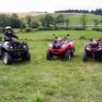 Dobrodružná jízda na čtyřkolce - dárkový poukaz na zážitek