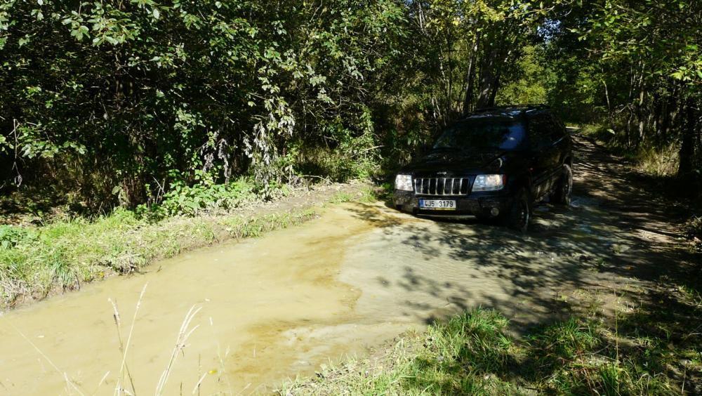 Extreme jízda v Jeepu - dárek