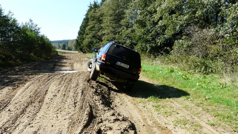Extreme jízda v Jeepu - poukaz na zážitek