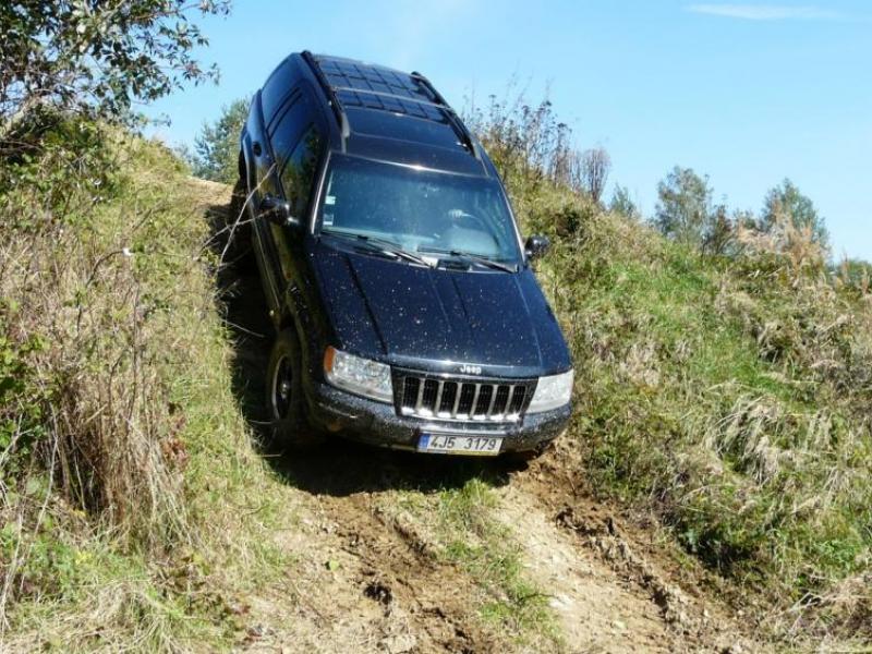 Extreme jízda v Jeepu - dárkový poukaz