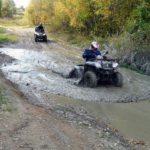 Extrémní jízda na čtyřkolce - dárkový poukaz na zážitek
