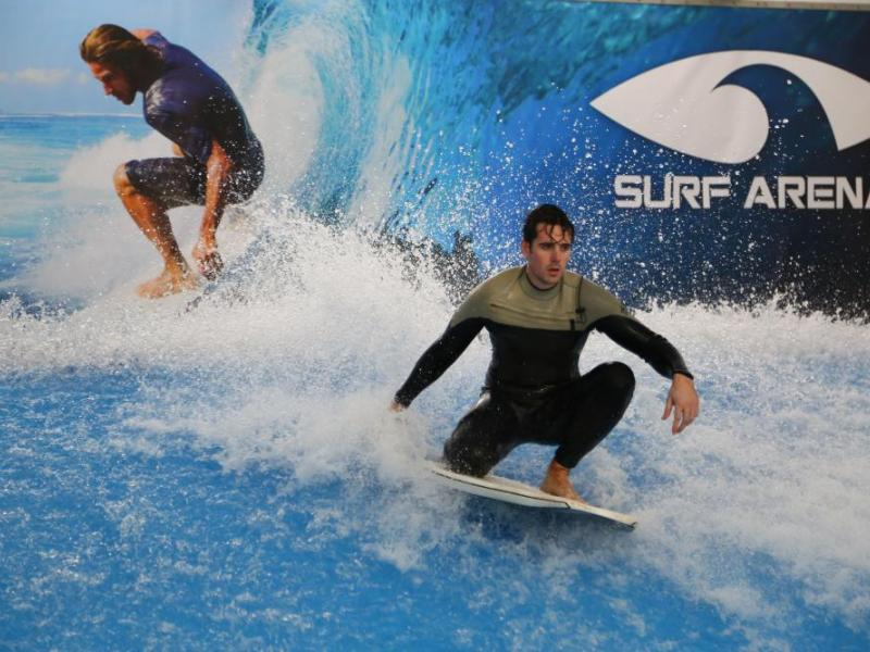 Indoor surfing - dárkový poukaz