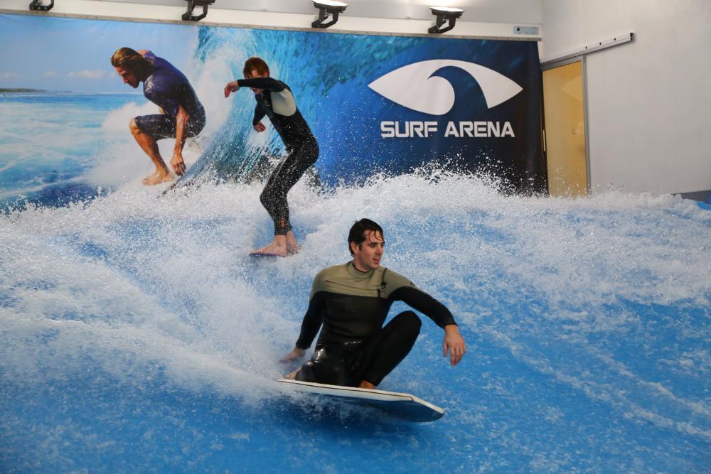 Indoor surfing - dárek