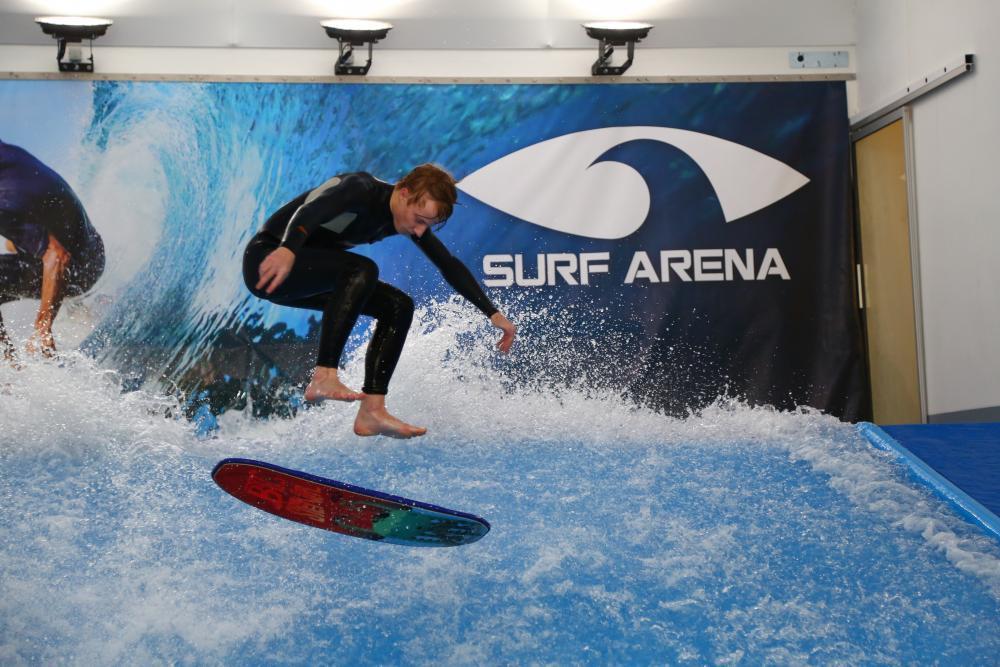 Indoor surfing - certifikát