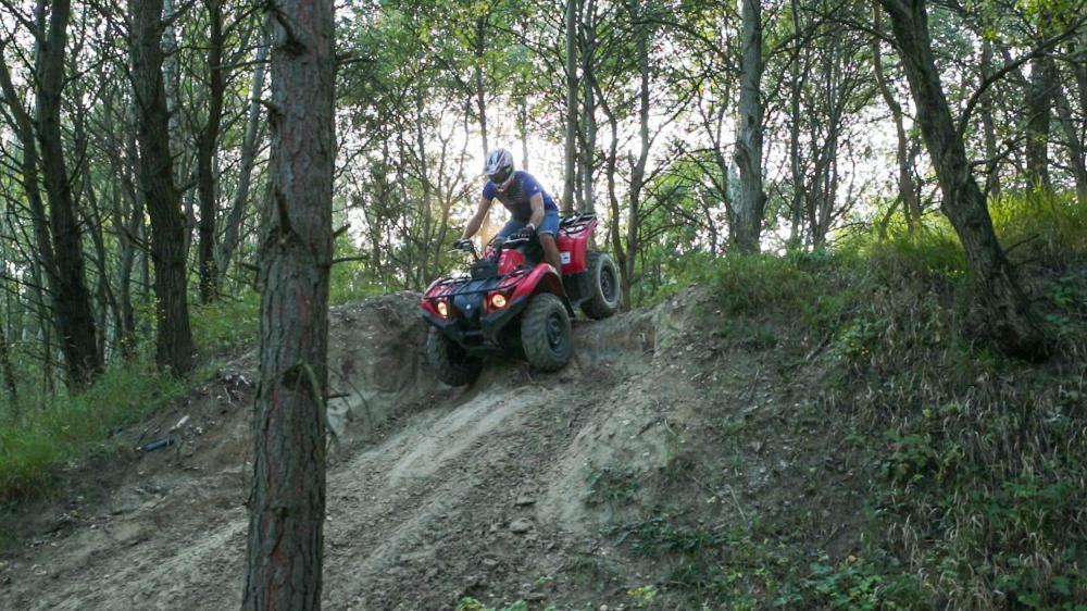 Jízda na čtyřkolce ATV do přírody - dárek
