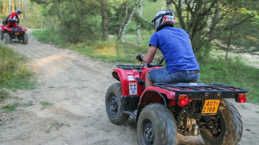 Jízda na čtyřkolce ATV do přírody - poukaz na zážitek