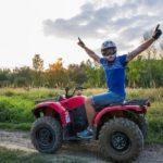 Jízda na čtyřkolce ATV do přírody - dárkový poukaz na zážitek