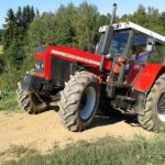 Jízda traktorem - poukaz, certifikát