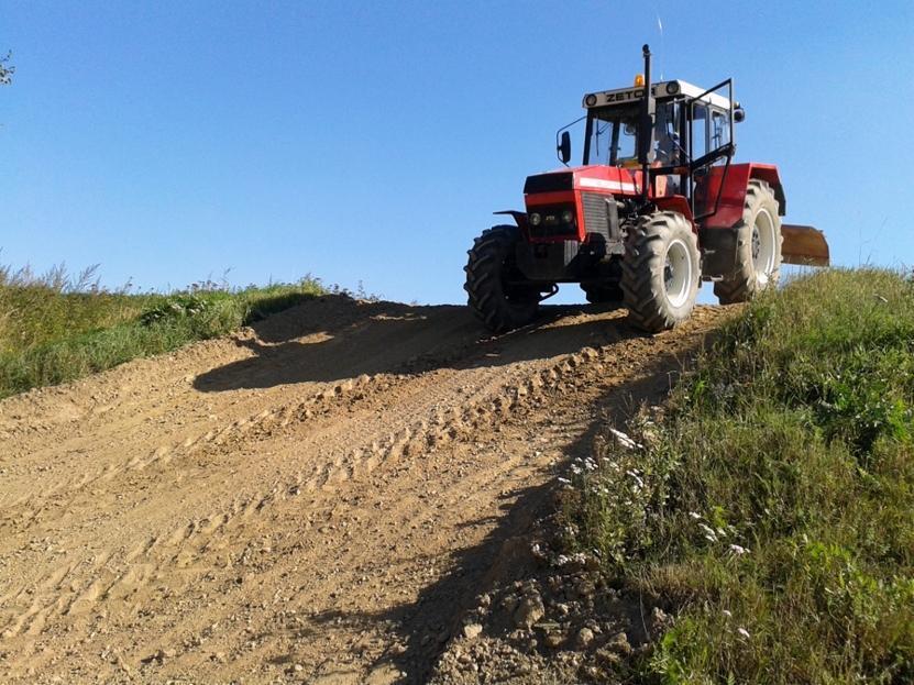 Jízda traktorem - dárek