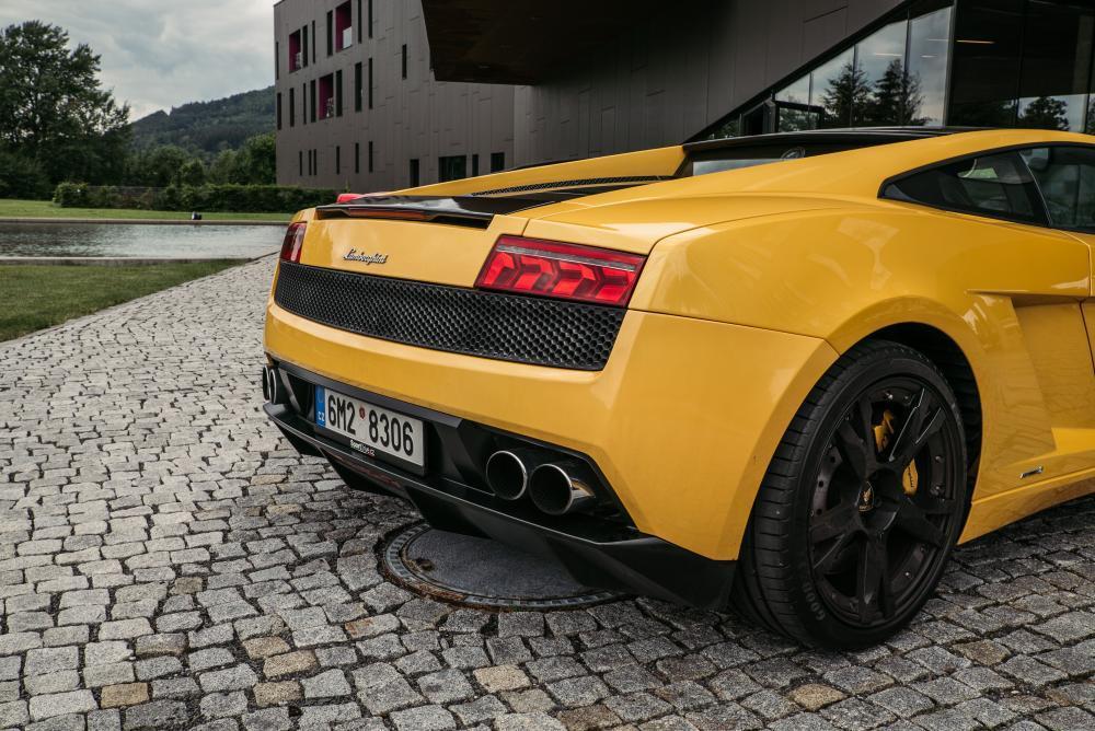 Jízda v Lamborghini Gallardo - certifikát
