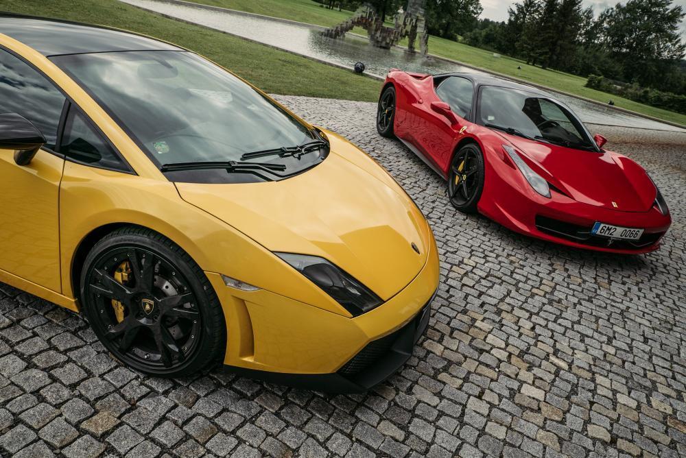Jízda v Lamborghini Gallardo - poukaz na zážitek