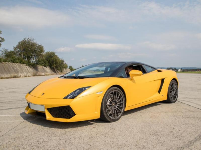 Jízda v Lamborghini Gallardo - dárkový poukaz