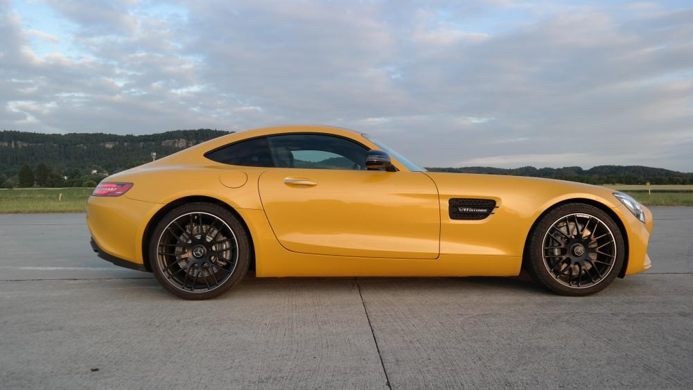 Jízda v Mercedesu AMG GTS V8 Biturbo - certifikát