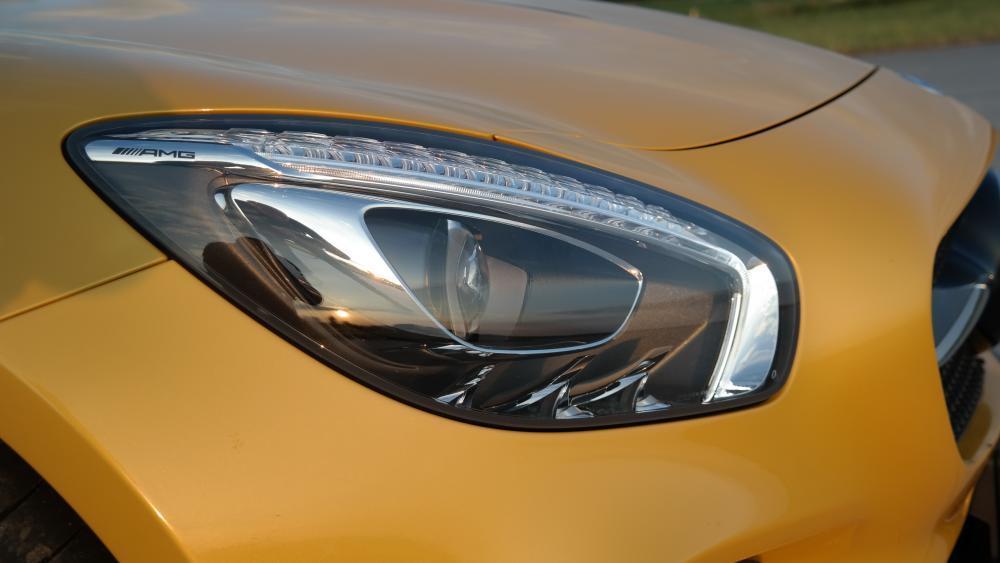 Jízda v Mercedesu AMG GTS V8 Biturbo - dárek