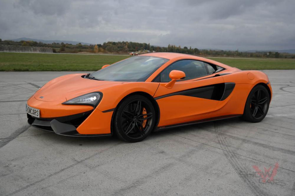 Jízda v supersportu McLaren - certifikát