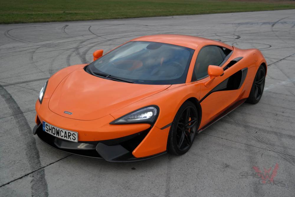 Jízda v supersportu McLaren - dárek