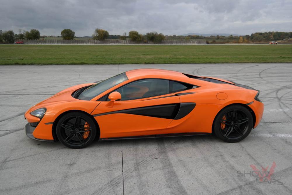 Jízda v supersportu McLaren - poukaz na zážitek