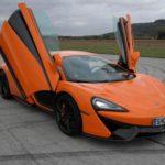 Jízda v supersportu McLaren - poukaz, certifikát