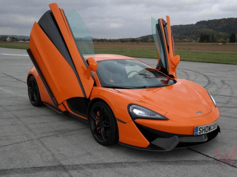 Jízda v supersportu McLaren - dárkový poukaz