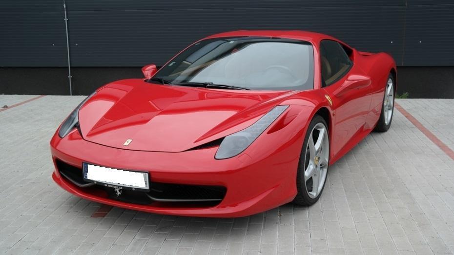 Jízda ve Ferrari 458 - certifikát