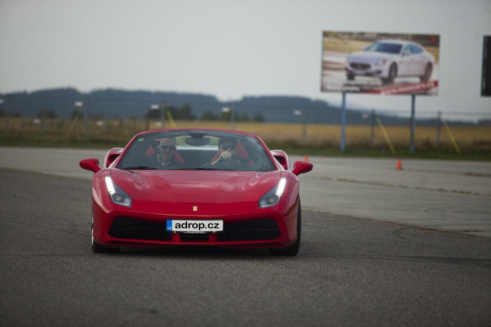 Jízda ve Ferrari na okruhu - certifikát