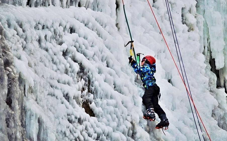Kurz ledového lezení - dárek