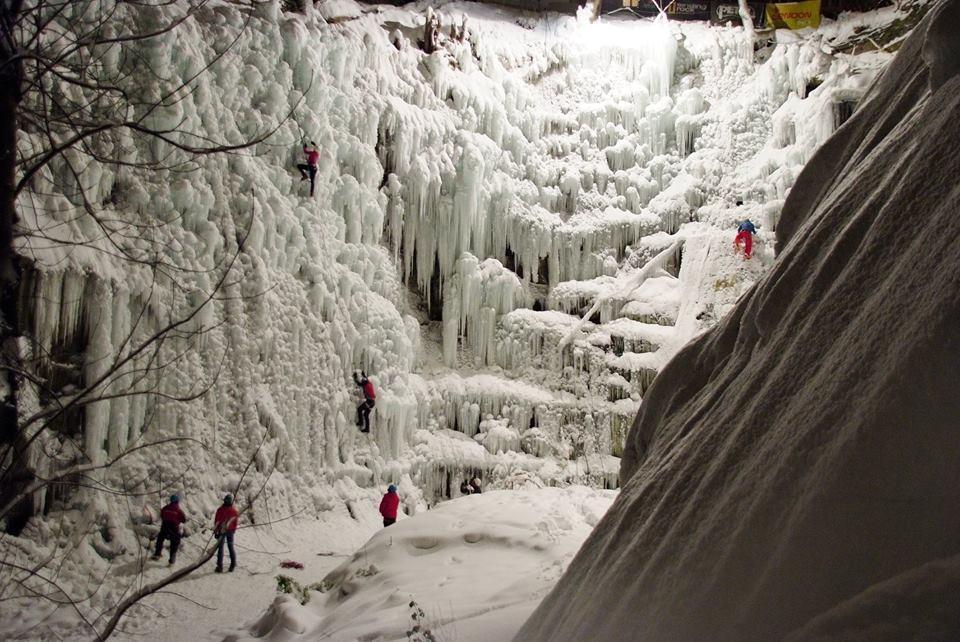 Kurz ledového lezení - poukaz na zážitek
