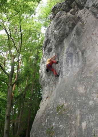 Kurz lezení na skalách - certifikát