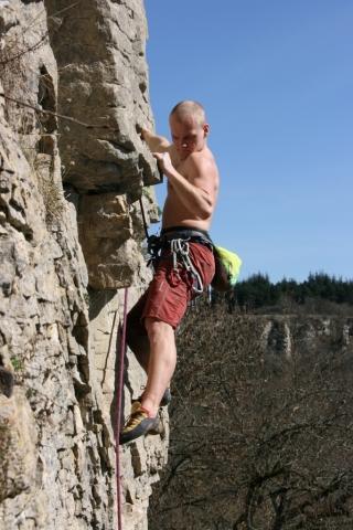 Kurz lezení na skalách - dárek