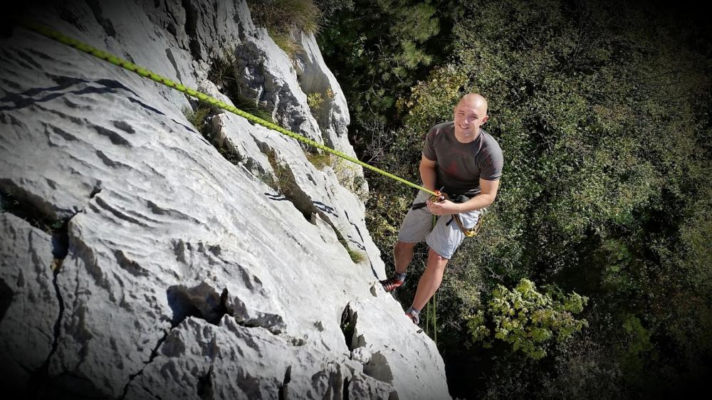Kurz lezení na skalách - poukaz na zážitek