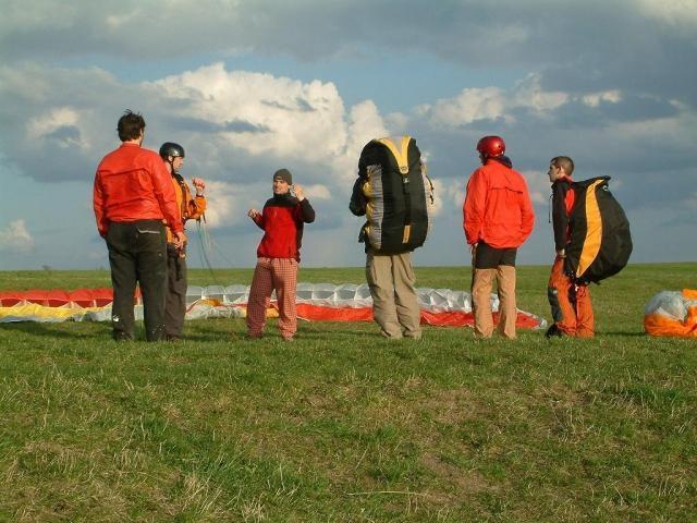 Kurz paraglidingu - dárek