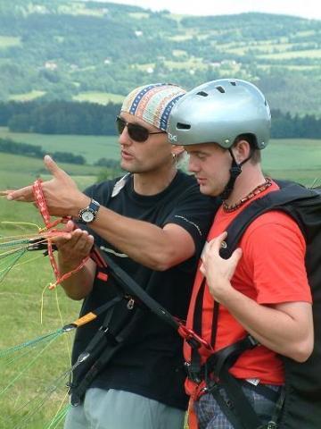 Kurz paraglidingu - poukaz na zážitek