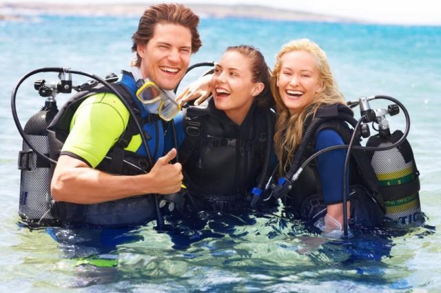 Kurz potápění - certifikát