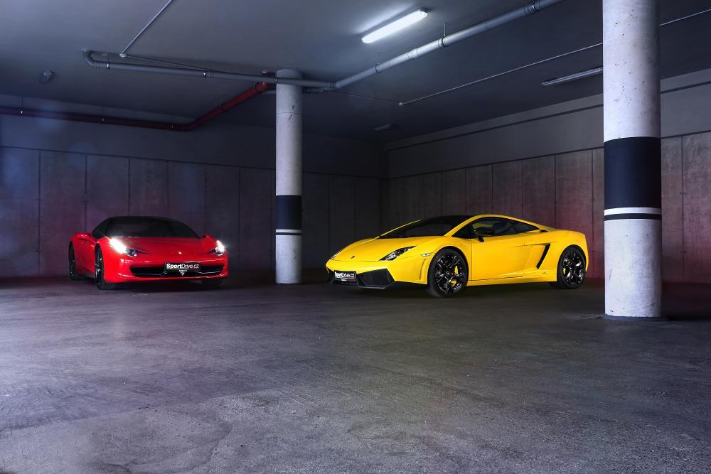 Lambo vs. Ferrari - certifikát