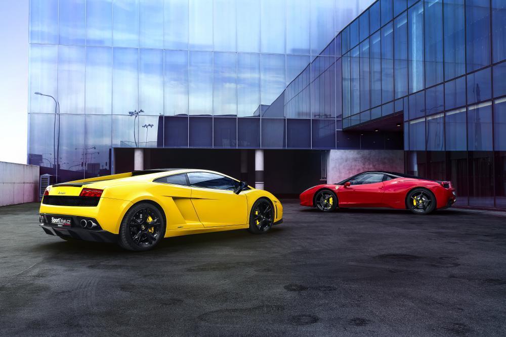 Lambo vs. Ferrari - dárek