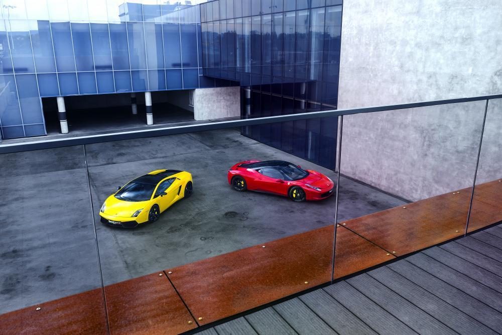 Lambo vs. Ferrari - poukaz na zážitek