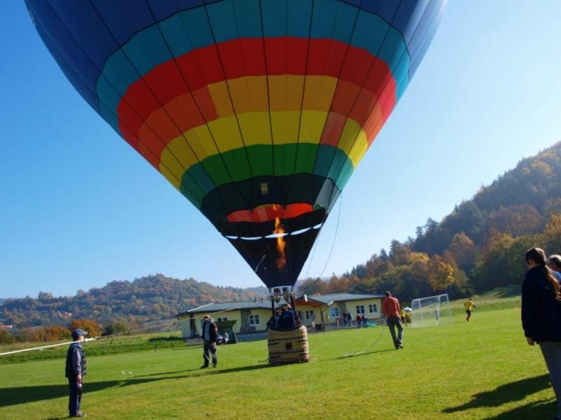 Let balónem - dárkový poukaz