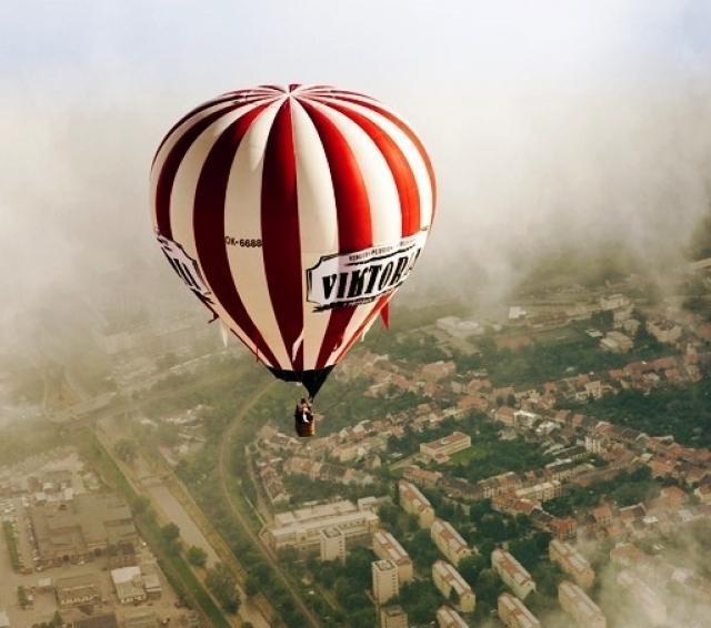 Vyhlídkové lety velkým balónem se stevardem po celé ČR - certifikát