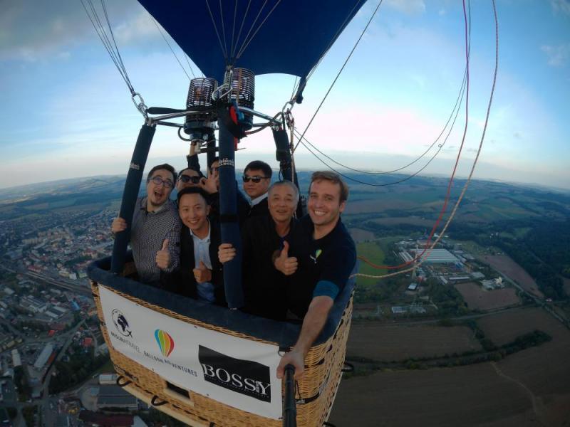 Let balónem pro chlapy - dárkový poukaz