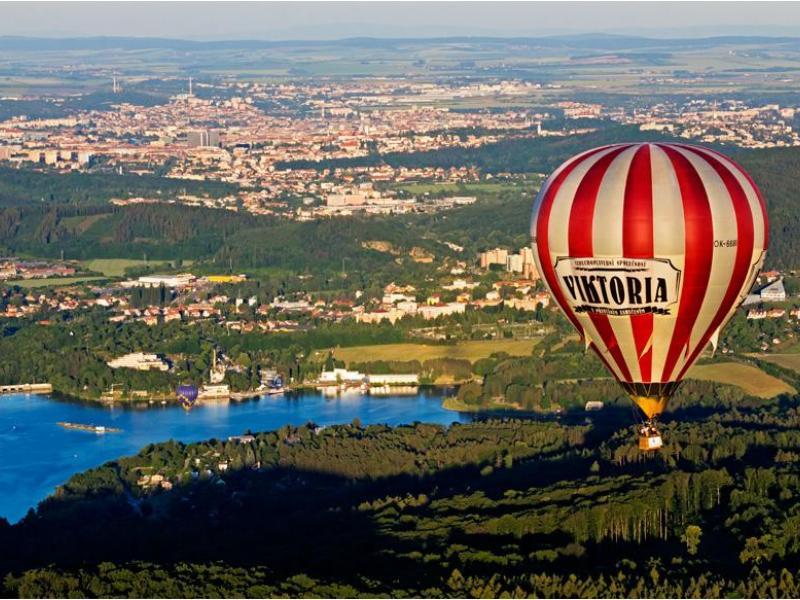 Let historickým balónem - dárkový poukaz