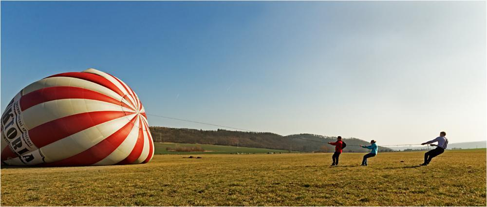 Let historickým balónem - poukaz na zážitek