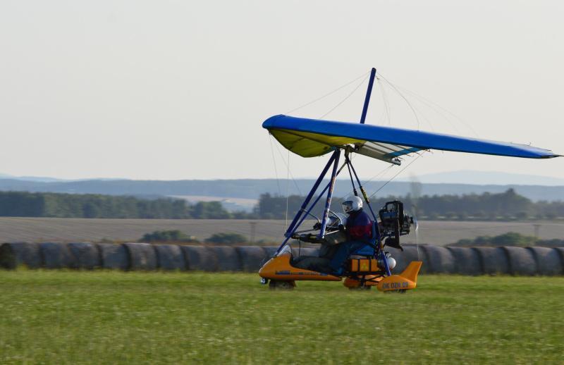 Pilotem motorového rogala na zkoušku - certifikát